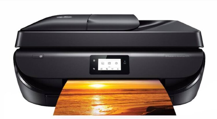 МФУ струйный HP Deskjet Ink Advantage 5275 принтер/ сканер/ копир/ факс, А4, ADF, дуплекс, 10/7 стр/мин, USB, WiF <M2U76C> (652 картирдж)