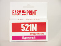 EasyPrint IC-CLI521M для Canon PIXMA iP3600/4600/4700/MP540/620/630/980/MX860/870, пурпурный, с чипо