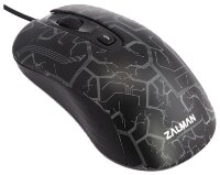 Проводная мышь Zalman ZM-M250 USB 1600dpi, black color