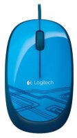 Мышь проводная Logitech Mouse M105 Optical Mouse USB Blue 910-003119