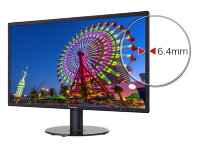 "Монитор LCD ViewSonic 23.8"" VA2419SH черный {IPS, LED, 1920x1080, 5 ms, 178°/178°, 250 cd/m, 50M:1, D-Sub, HDMI}"