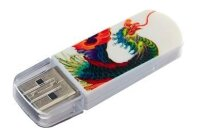 Флешка USB2.0 Verbatim USB 32Gb Mini Tattoo Drive Edition Phoenix 49898