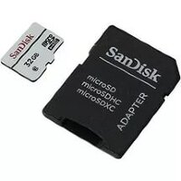 Карта памяти Micro SecureDigital 32Gb SanDisk SDSQUNB-032G-GN3MA {MicroSDHC Class 10 UHS-I, SD adapter}