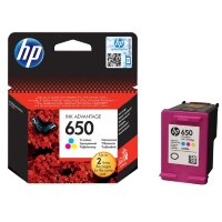 CZ102AE Картридж HP 650 Tri-colour (Цветной) Ink Cartridge для HP Deskjet Ink Advantage 2515 и 2515 e-All-in-One