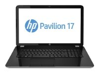 "Ноутбук HP Pavilion 17-f155nr 17.3"" 1600x900, Intel Core i5-4210U 1.7GHz, 8Gb, 1Tb + 8Gb SSD, DVD-RW, NVidia GT840M 2Gb, WiFi, BT, Cam, Win8.1, серебр"